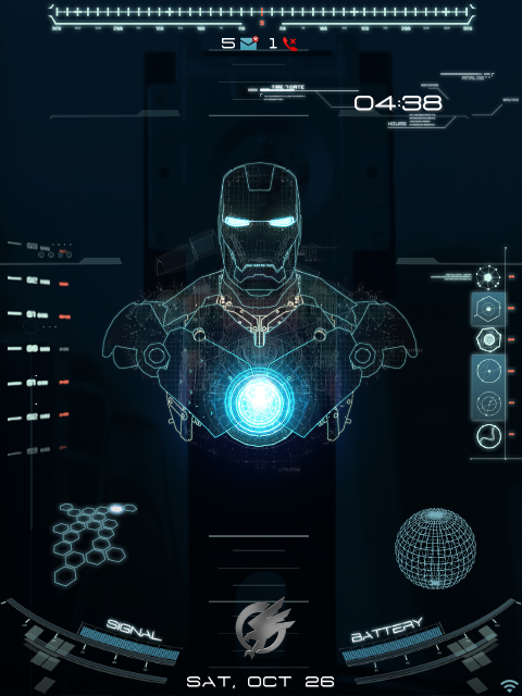 Jarvis Wallpaper Android [premium] animated jarvis