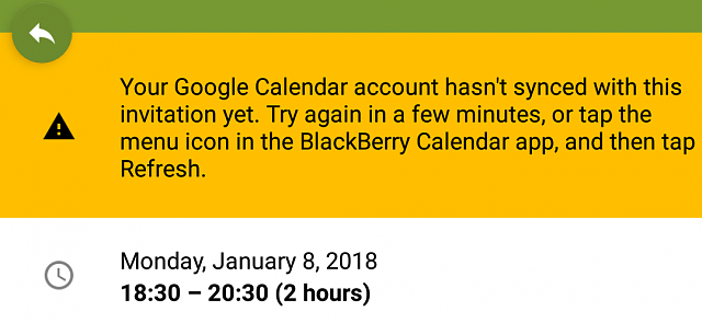 Gmail Calendar Sync Problem Blackberry Forums At Crackberry Com