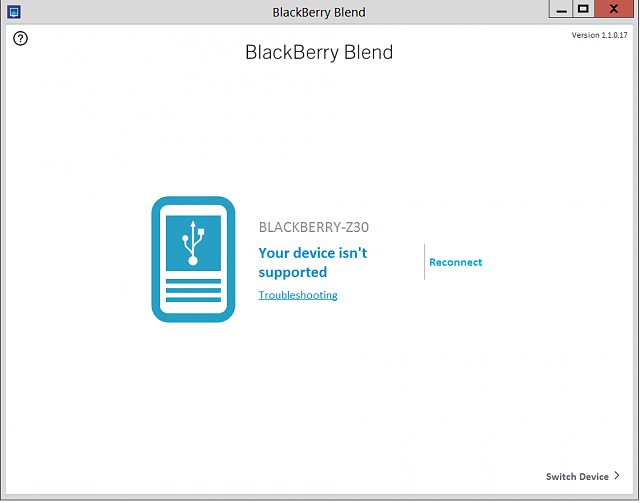 Will the Blackberry Blend work on my Z30 with 10.3.1.1154?-bb-blend.png