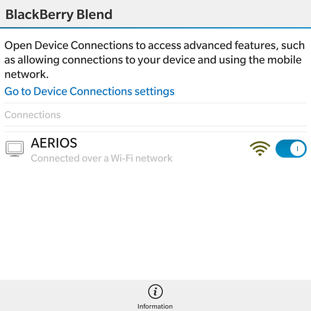 Major Bug, Will Not Connect - BlackBerry Forums at