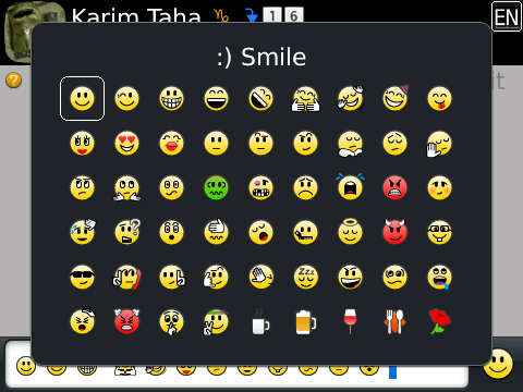 Blackberry Messager 7 Emoticons Look Wrong Blackberry Forums At