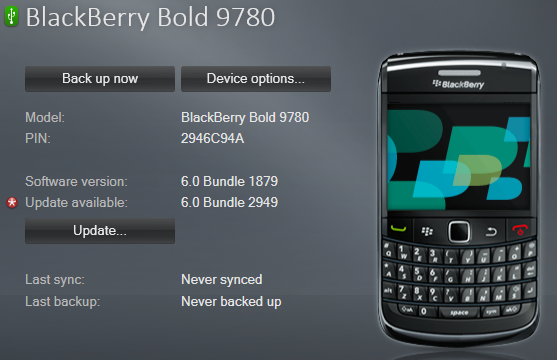 blackberry 9780 software  free