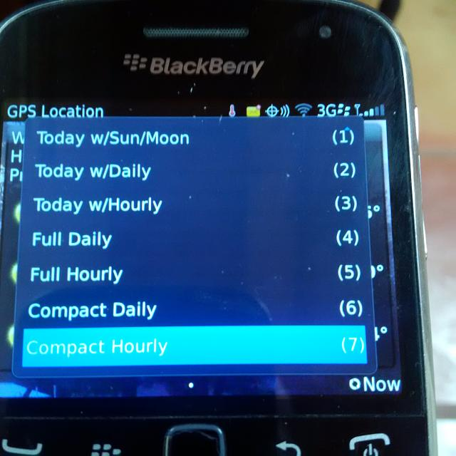 Tried the AccuWeather app - BlackBerry Forums at CrackBerry com