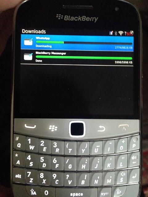 whatsapp pour blackberry bold 9700