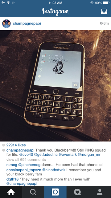 Drake & his new Blackberry Classic-img_0653.png