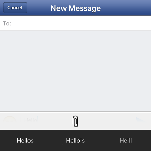 how to send a text message on iphone text predictions and fb messaging blackberry forums at 1652