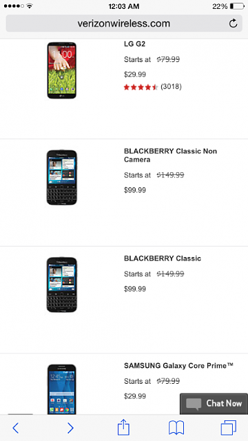 Verizon website has the BB Classic up now to ship by MARCH 5TH?!-img_0296.png