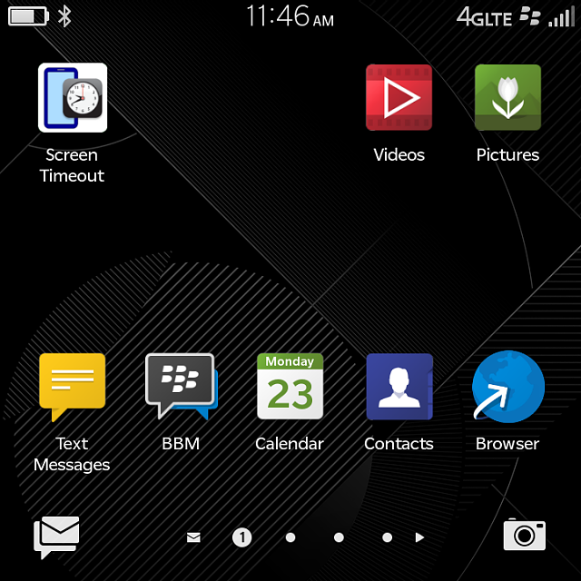How Do I Move Icons To The Home Screen On The Classic Blackberry