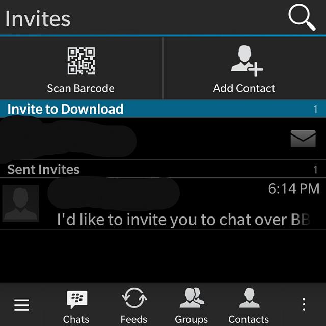 How can I delete an Invite to Download BBM?-img_20150323_183911.jpg