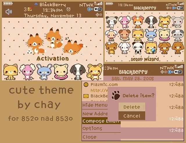 Soooo Cute Theme! :3 Kawaii Theme!