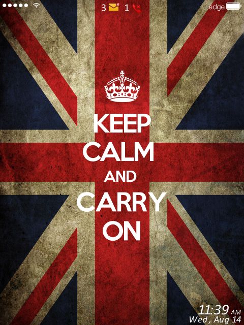 Keep Calm And Carry On 9810 01