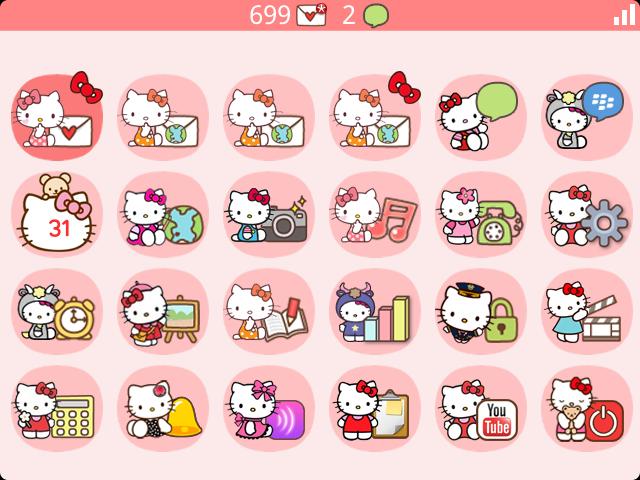 Premium Bubble Theme Hello Kitty Edition Blackberry Forums At