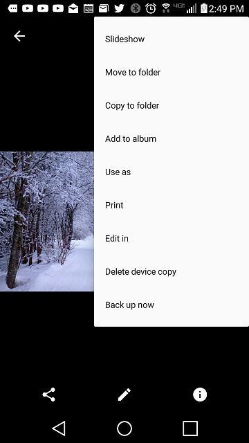 Set different wallpapers Lockscreen/homescreen - BlackBerry