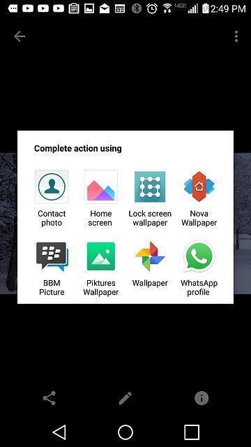 Set Different Wallpapers Lockscreen Homescreen Blackberry Forums