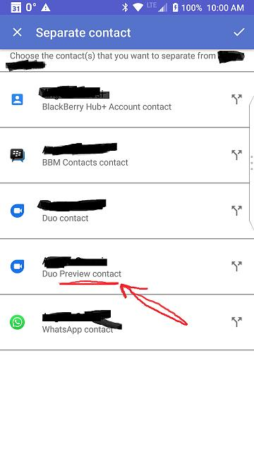 Contact: Duo listed twice - BlackBerry Forums at CrackBerry com
