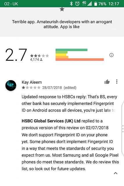 HSBC say BB security not good enough - BlackBerry Forums at