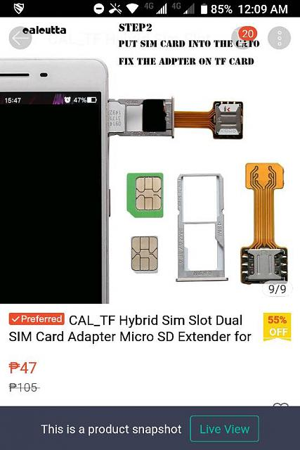 I beat the BlackBerry Key 2 dual SIM card and SD card slot