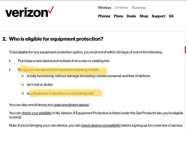Verizon Asurion Protection For Byod Blackberry Forums At Crackberry Com