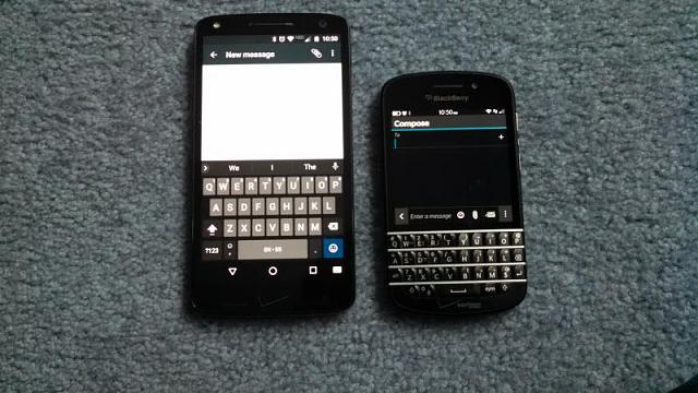 KEYone keyboard vs other BB qwertys - BlackBerry Forums at