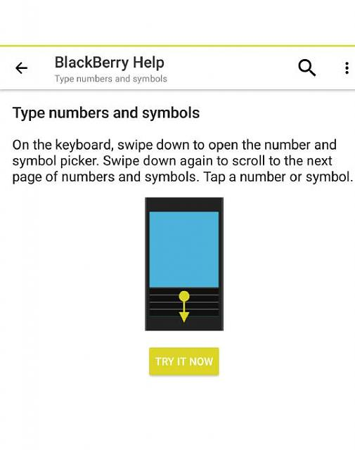 Need Help On Keyboard Swipe Down For Numbers Blackberry Forums At
