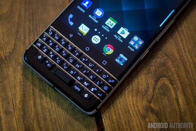 Change KEYone keyboard background light color? - BlackBerry