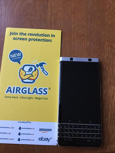 Glass screen protectors - BlackBerry Forums at CrackBerry com