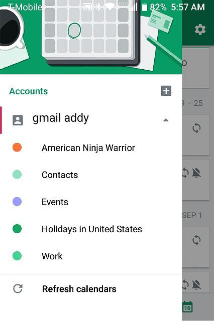 Google Calendar sync problem on KEYone - BlackBerry Forums