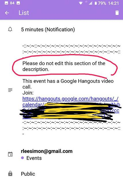 unwanted Hangouts Link in new calendar entries-img_20190902_142412.jpeg