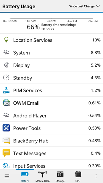 Why is the battery drainig so fast on Blackberry Leap?-img_20150618_195429.png