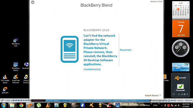 Unable to access files from BlackBerry Link and Blend-blend.png