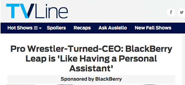 Pro Wrestler-Turned-CEO: BlackBerry Leap is 'Like Having a Personal Assistant'-screenshot-2015-07-30-23.28.23.png