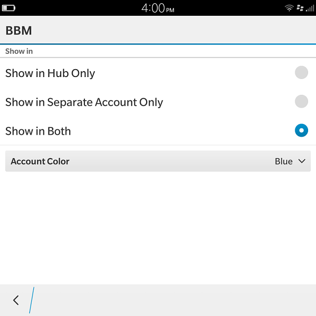 Why aren't my BBM's showing up in the hub on my Leap?-img_20160505_160002.png