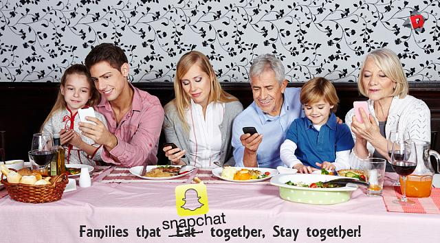 Sold my BlackBerry keyone and got a leap-family-dinner-phone-snapchat1.jpg