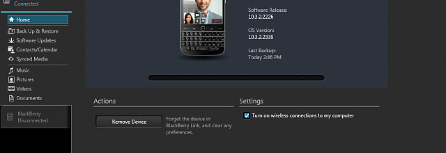 blackberry desktop