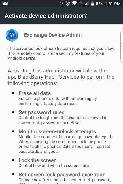 Adding Gmail account ask for permissions control