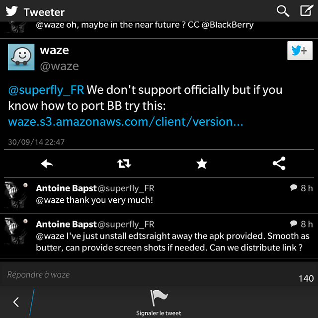 Waze on the passport - BlackBerry Forums at CrackBerry com