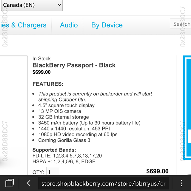 Blackberry coupons 2018