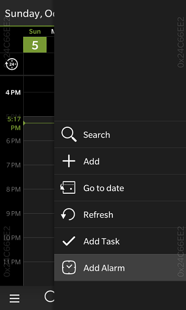 Black Berry Passport - How to Set Alarms in the Calendar App?-img_20141005_171758.png