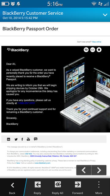 (Coupon no longer works) BlackBerry Passport for 9.00-img_20141010_171640.png