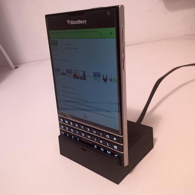 passport docking station z10 blackberry forums at. Black Bedroom Furniture Sets. Home Design Ideas