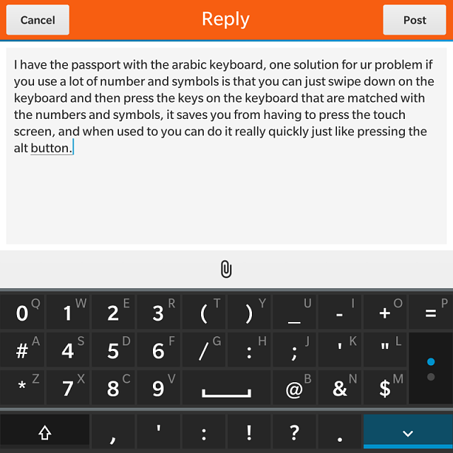 Second Language On The Passports Keyboard Blackberry Forums At