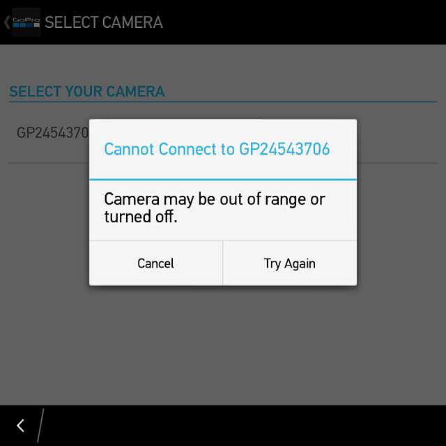 Connecting to GoPro 4 issues - Snap app-img_20141225_174549.png