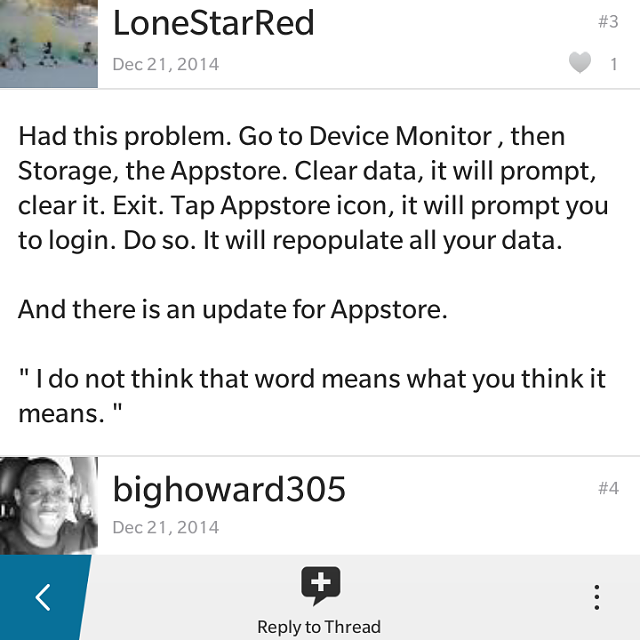 Amazon App Store Constantly Crashing - BlackBerry Forums at