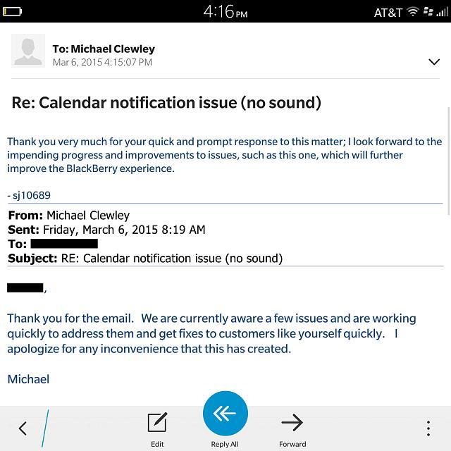 Calendar Notification Issue No Sound