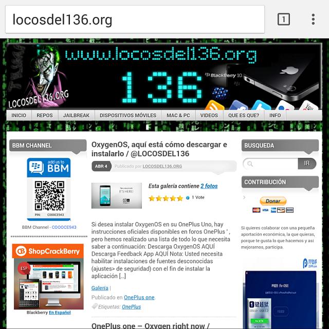 download google chorme for blackberry