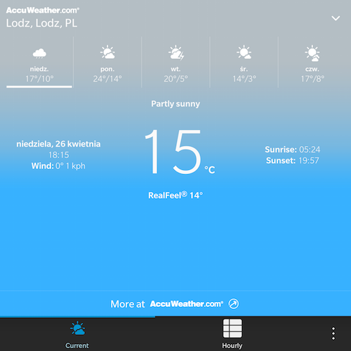 Weather app different on the PASSPORT - temp graph missing-weather_passport.png