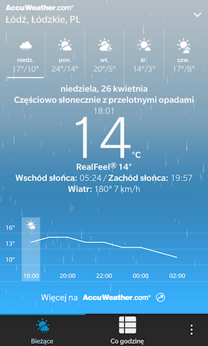 Weather app different on the PASSPORT - temp graph missing-weather_z10.png