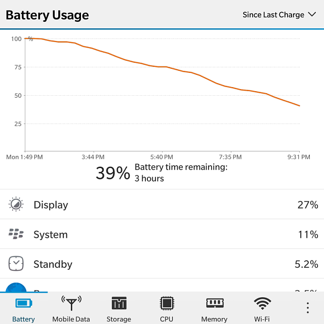 O'm having a very poor battery life on my Passport, can somebody help me out with that?-img_20150525_213346.png