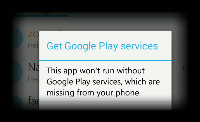 Skype asking to get Google play services - BlackBerry Forums at
