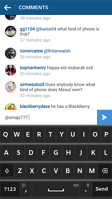 Any Arsenal fans out there? Check out Ozil's phone-img_20150716_152323.png